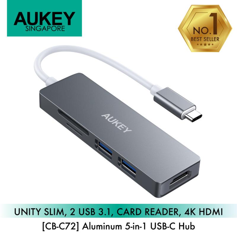 Aukey CB-C72 5-in-1 USB-C Hub