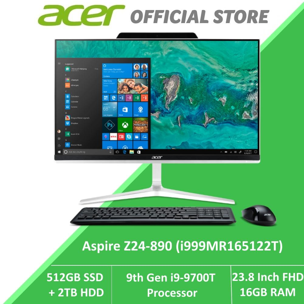 Strange Acer Aspire Z24 890 I999Mr165122T New Aio Desktop With 9Th Gen Intel I9 9900T Processor Download Free Architecture Designs Ferenbritishbridgeorg