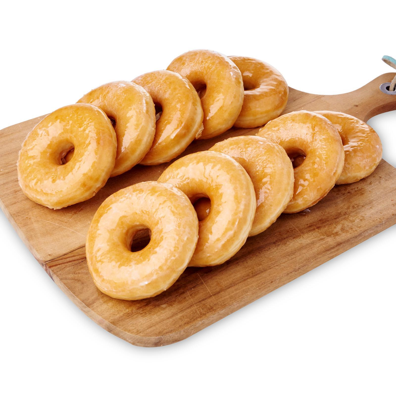 Bakehouse Double Glazed Original Doughnut - Frozen - Case By Redmart.
