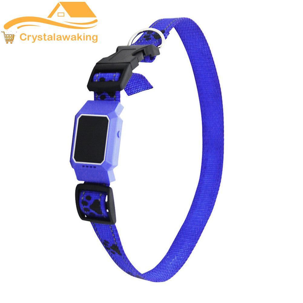 GPS Locator GSM AGPS WIFI LBS Pet Dog Anti-lost Mini Collar Track Device
