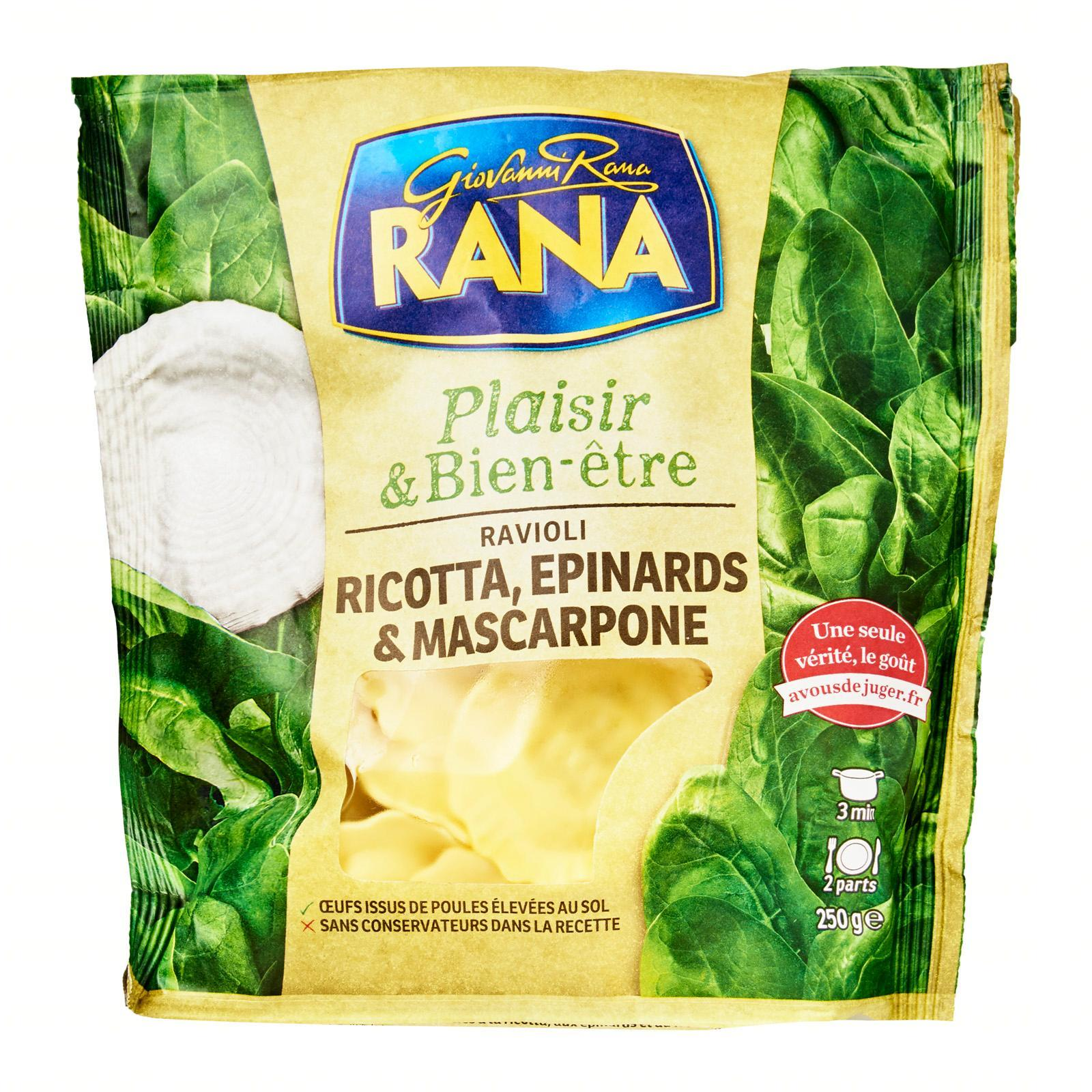 Giovanni Rana Raviolis Ricotta/spinachs - By Le Petit Depot By Redmart.