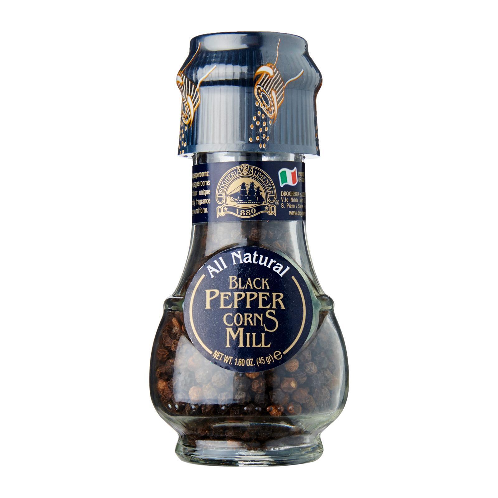 Drogheria & Alimentari All Natural Black Pepper Corns Mill
