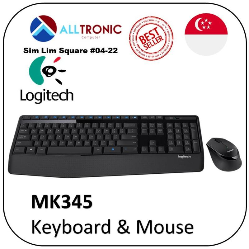 Logitech MK345 Wireless  Wireless Combo (Keyboard and mouse) 1YR Warranty P/N: 920-006491 Singapore