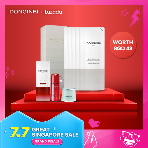 Buy [Donginbi Official] Red Ginseng Mi Maskpack Stick 5 sheets (4 options) Singapore