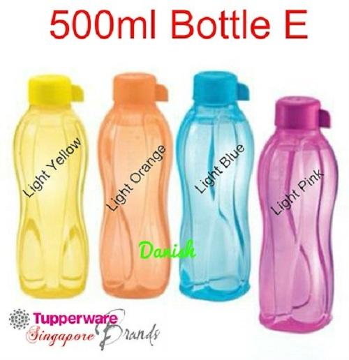 Authentic Tupperware SG Seller Aquasafe Eco Water Bottle 500ml E *BPA Free*  Best CNY Gift