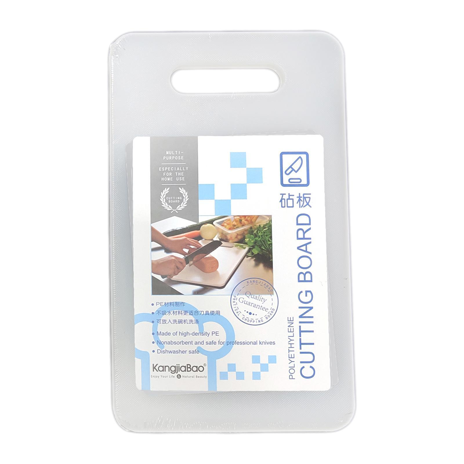 KangjiaBao Small Plastic Chopping Board 25x15 CM