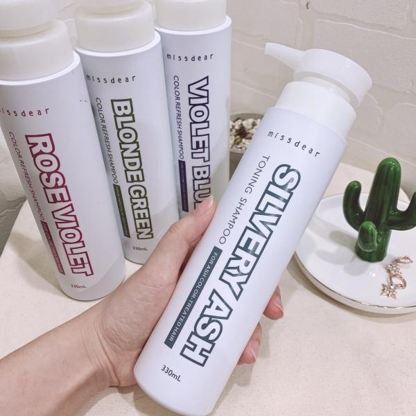 Buy Missdear Color Refresh Shampoo For Color-Treated Hair 330ml Silvery Ash Singapore