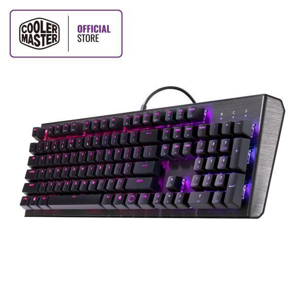 Cooler Master CK550 Mechanical Keyboard, Gateron Switches, RGB Illumination, Floating Keys, Brushed Aluminum Design, Software Customization (Full Layout / 108 Keys) Singapore