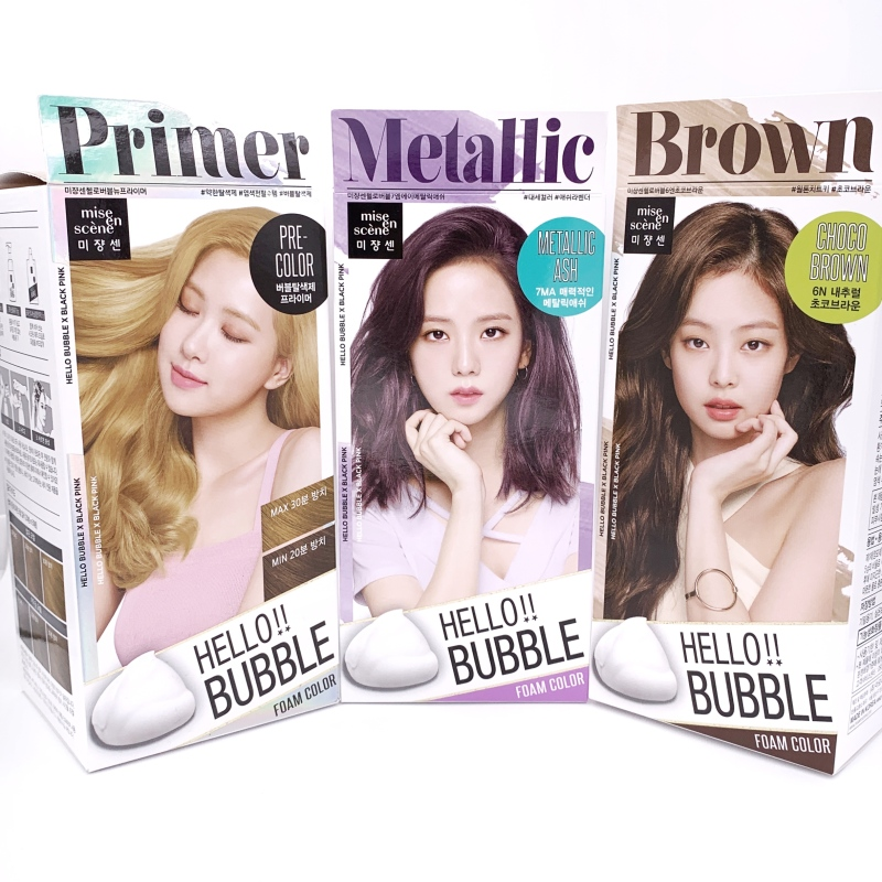 Buy Mise En Scene Hello Bubble Dye Hair Coloring Singapore