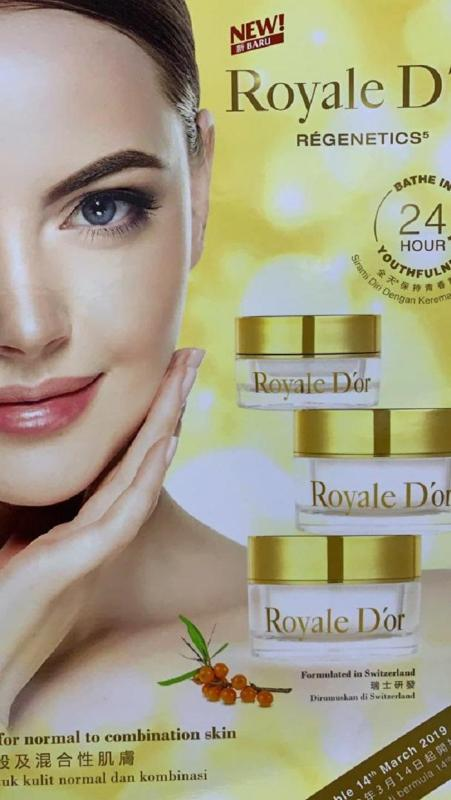 Buy [Royale Dor] Regenetics - Eye cream, Day n Night cream (NEW!!!!) - Organic (see results in 24 hrs) Singapore