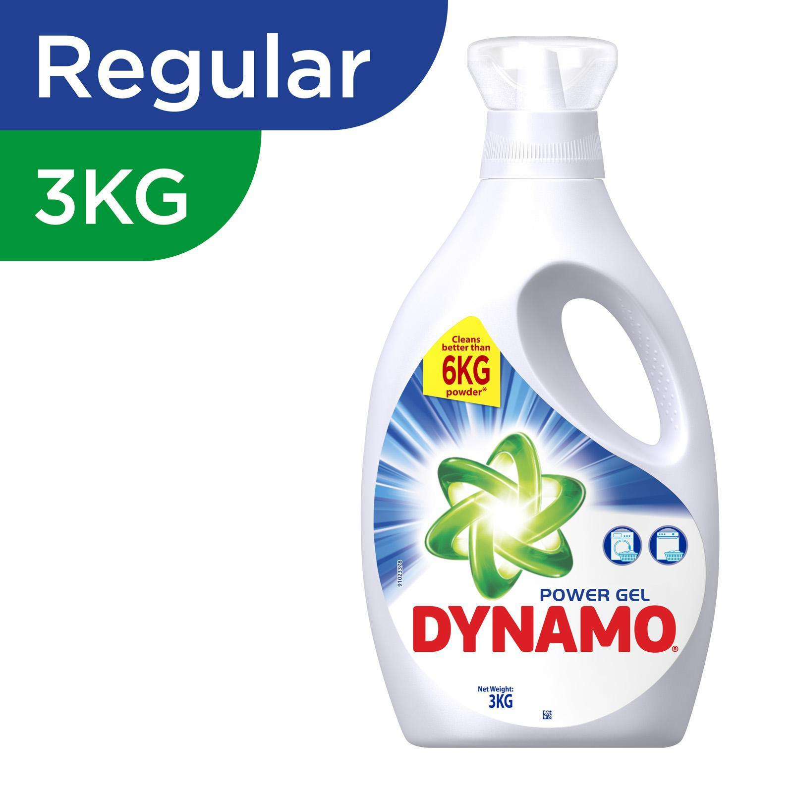 DYNAMO Laundry Liquid Regular Power Gel 3kg