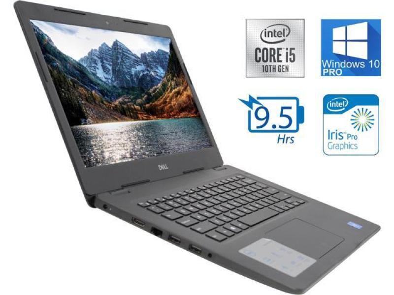[New Arrival] Dell Inspiron 14 - 3493 Laptop Intel Core 10th Gen i5 -1035G4 8GB RAM 480GB M.2 SSDWindows 10 Home 14.0inch  choose HD or FullHD ,black , bag ,Wireless mouse, dell 1 year warranty