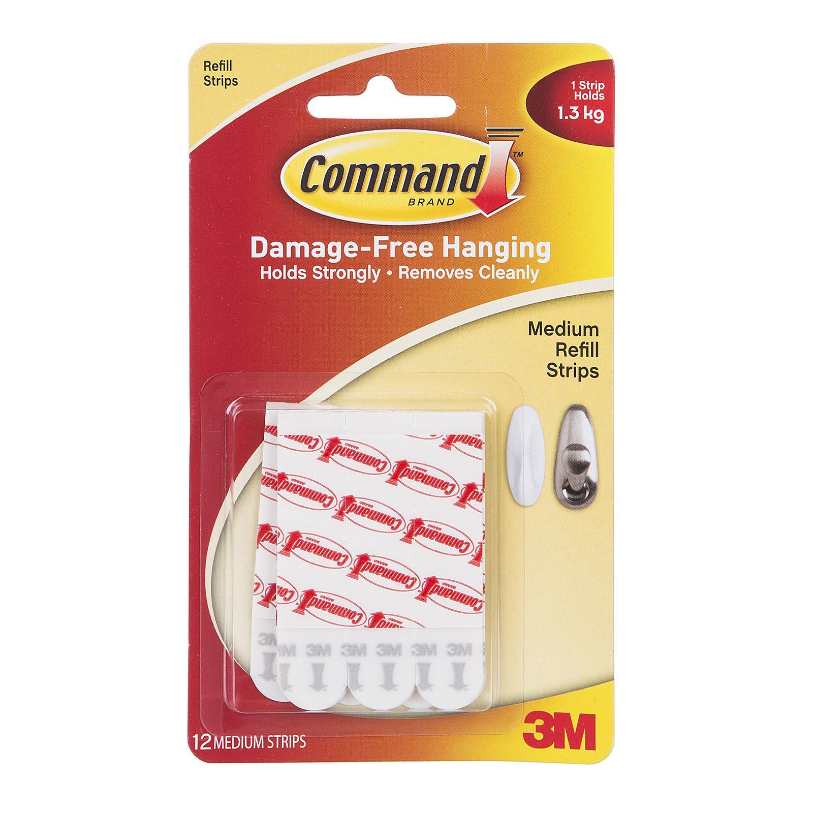Command™ 17021P-12Pk Med Refill