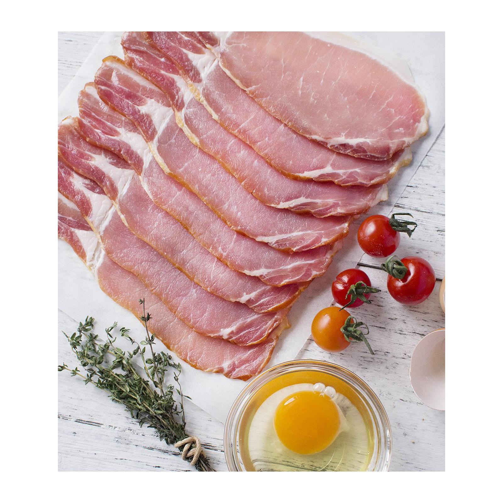 Sasha's Fine Foods Bacon Smoked - Frozen