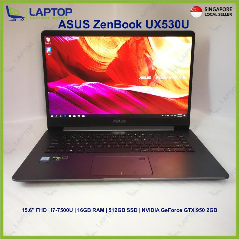 ASUS ZenBook UX530U (i7-7/16GB/512GB) @Thin & Light @ Premium Preowned [Refurbished]
