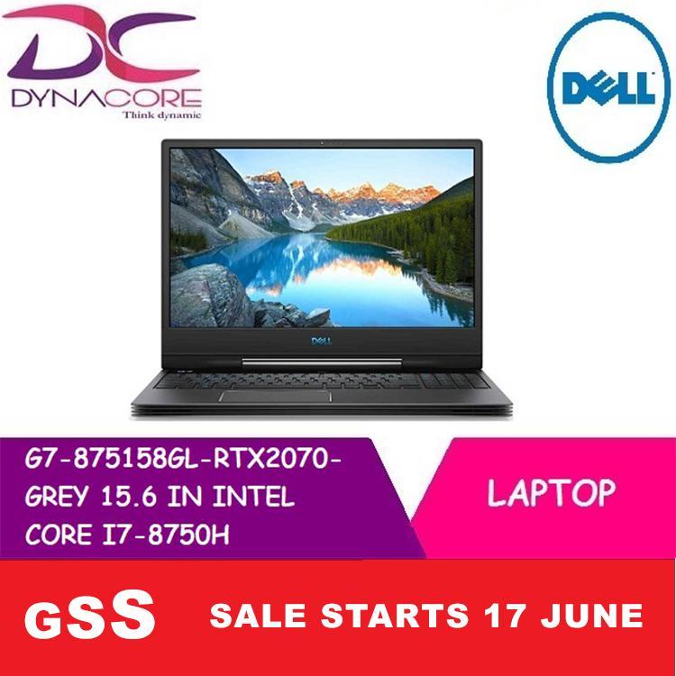 DELL G7 875158GL RTX2070 GREY 15.6 IN INTEL CORE I7-8750H 16GB 512GB SSD WIN 10