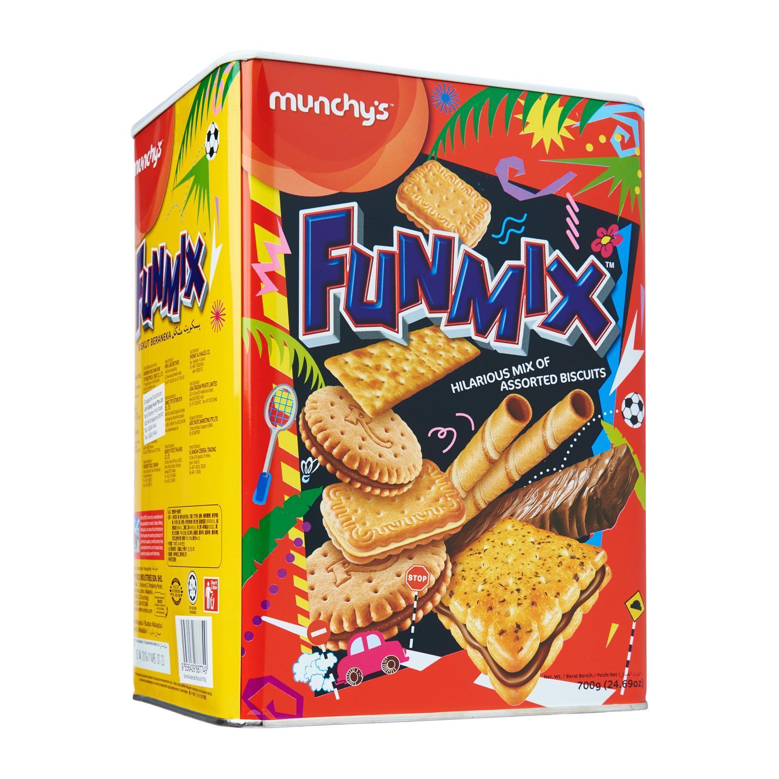 MUNCHY'S Funmix Assorted Biscuits 700g