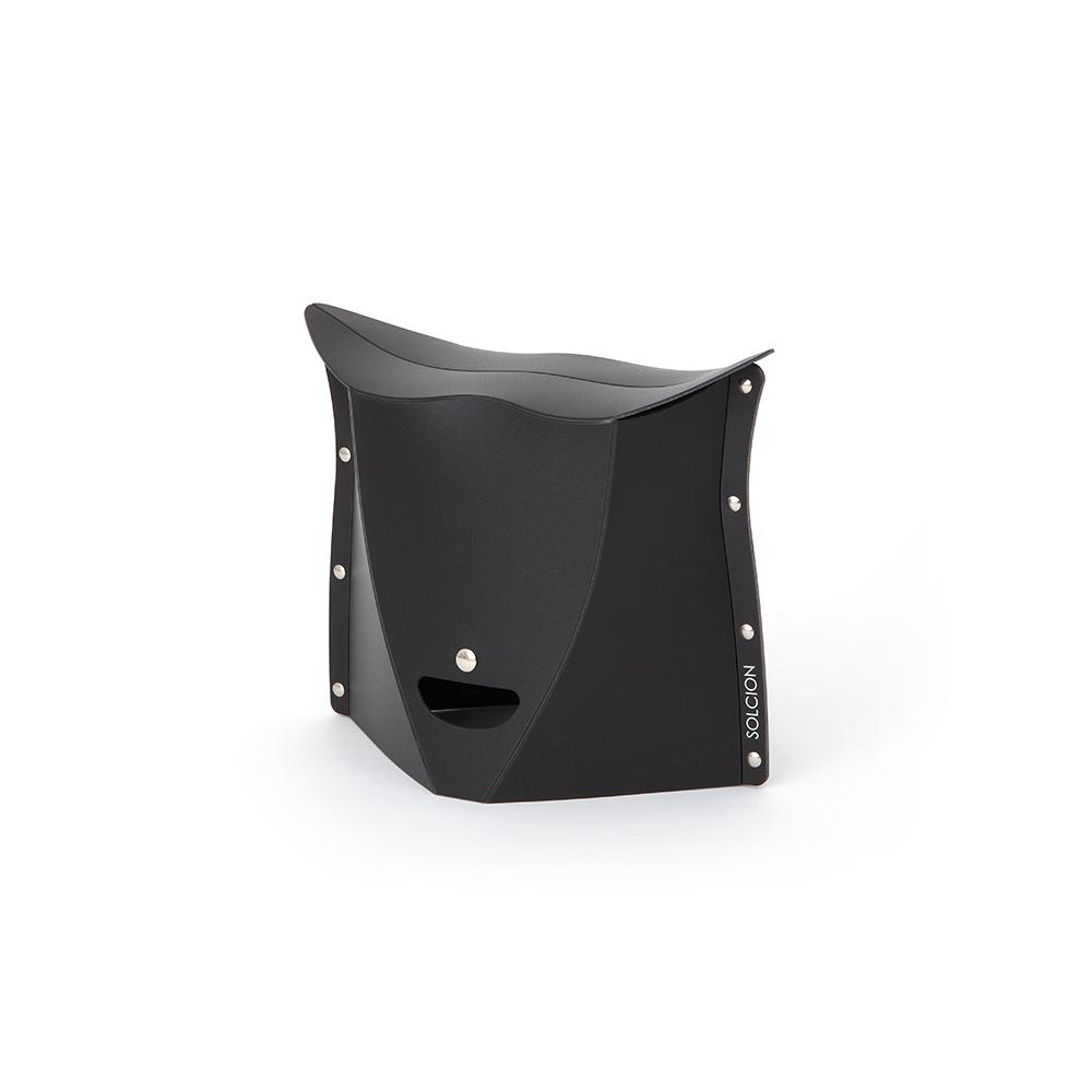 Solcion Patatto 250 - portable compact stool (Black)