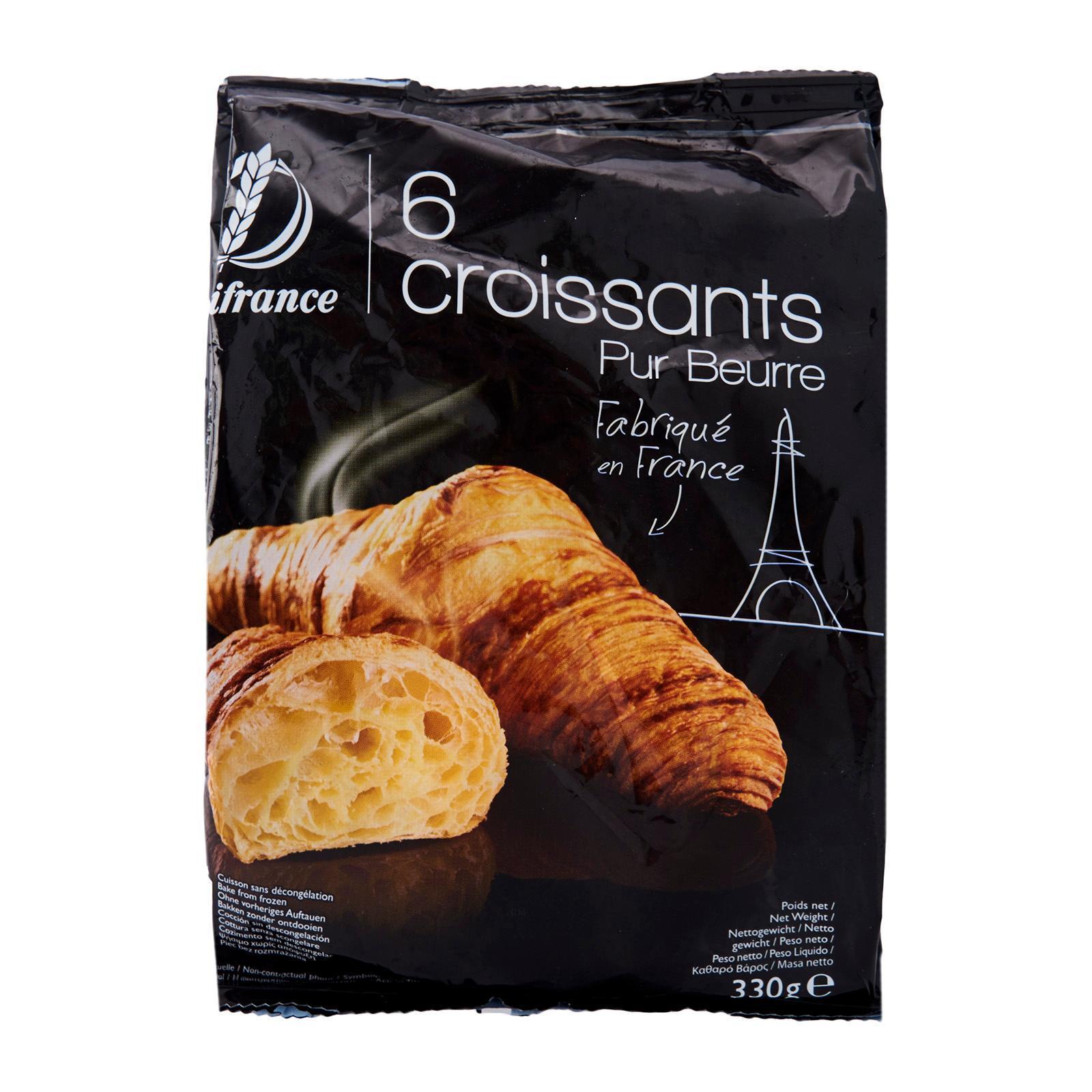 Delifrance Butter Croissant - Frozen By Redmart.