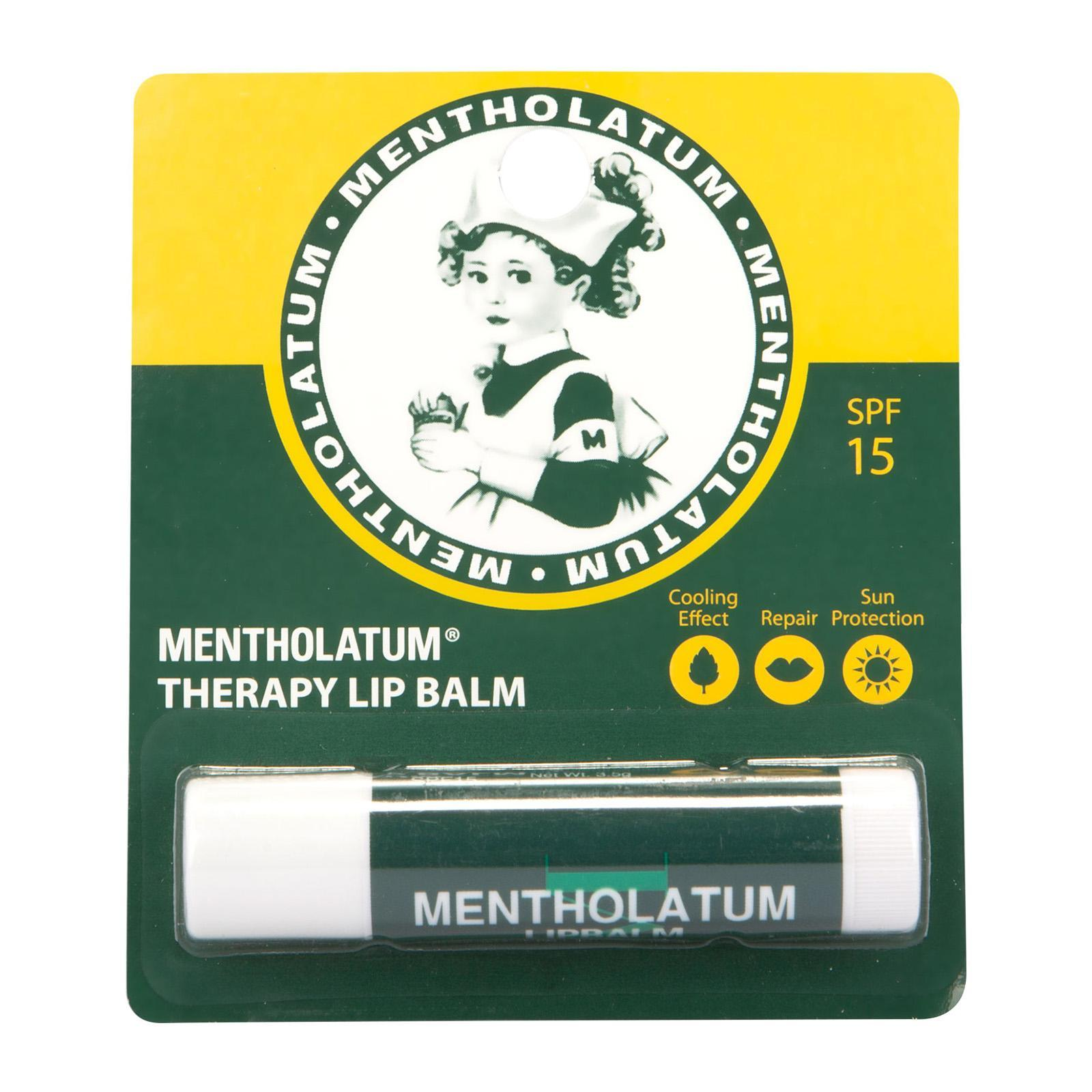 Mentholatum Therapy Lip Balm Cooling Sensation with SPF 15