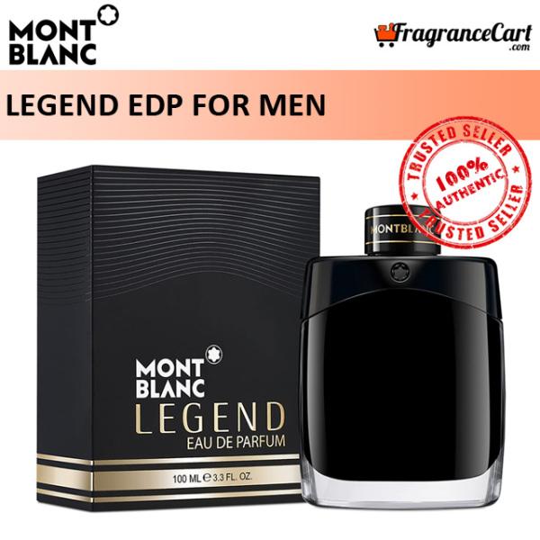 Buy Mont Blanc Legend EDP for Men (100ml) Eau de Parfum Black [Brand New 100% Authentic Perfume/Fragrance] Singapore