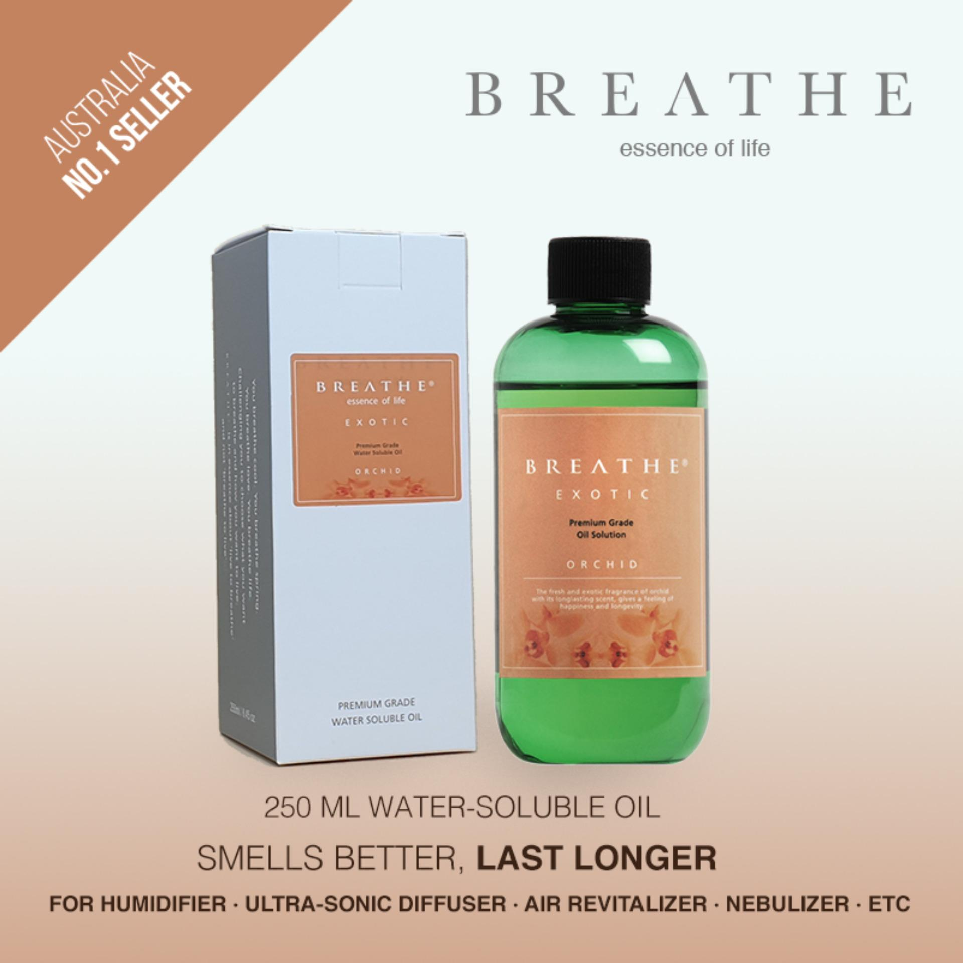 BREATHE Air Revitalizer Essence - Orchid