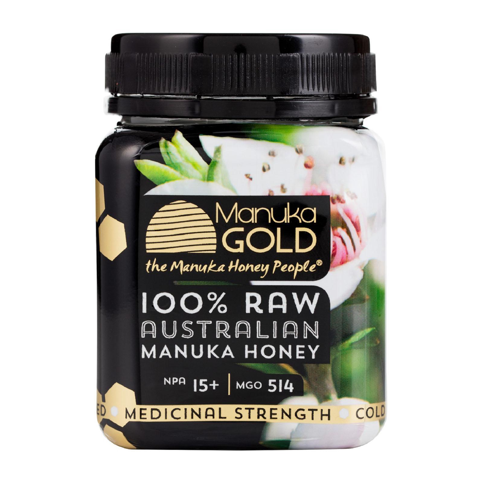 Nature's Gold 100% Raw Australian Manuka Honey 15+