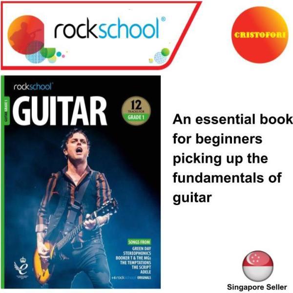 Rockschool Guitar - GRADE 1 for electric guitar (2018+ New Syllabus Book)