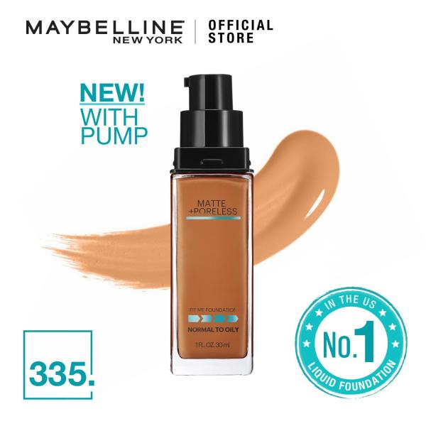 Buy Maybelline Fit Me Matte+Poreless Foundation with Pump Singapore