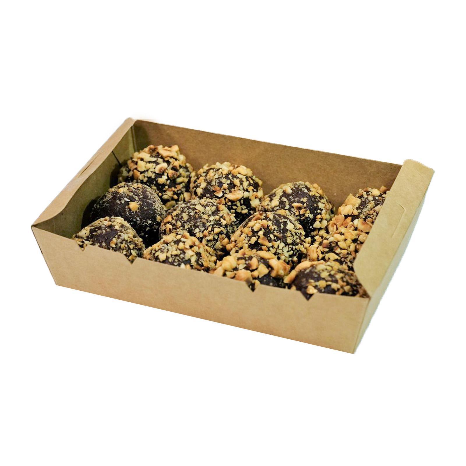 The Whole Kitchen Gluten Free Energy Balls/ Protein Balls- Hazelnut Cacao - 12 Pack