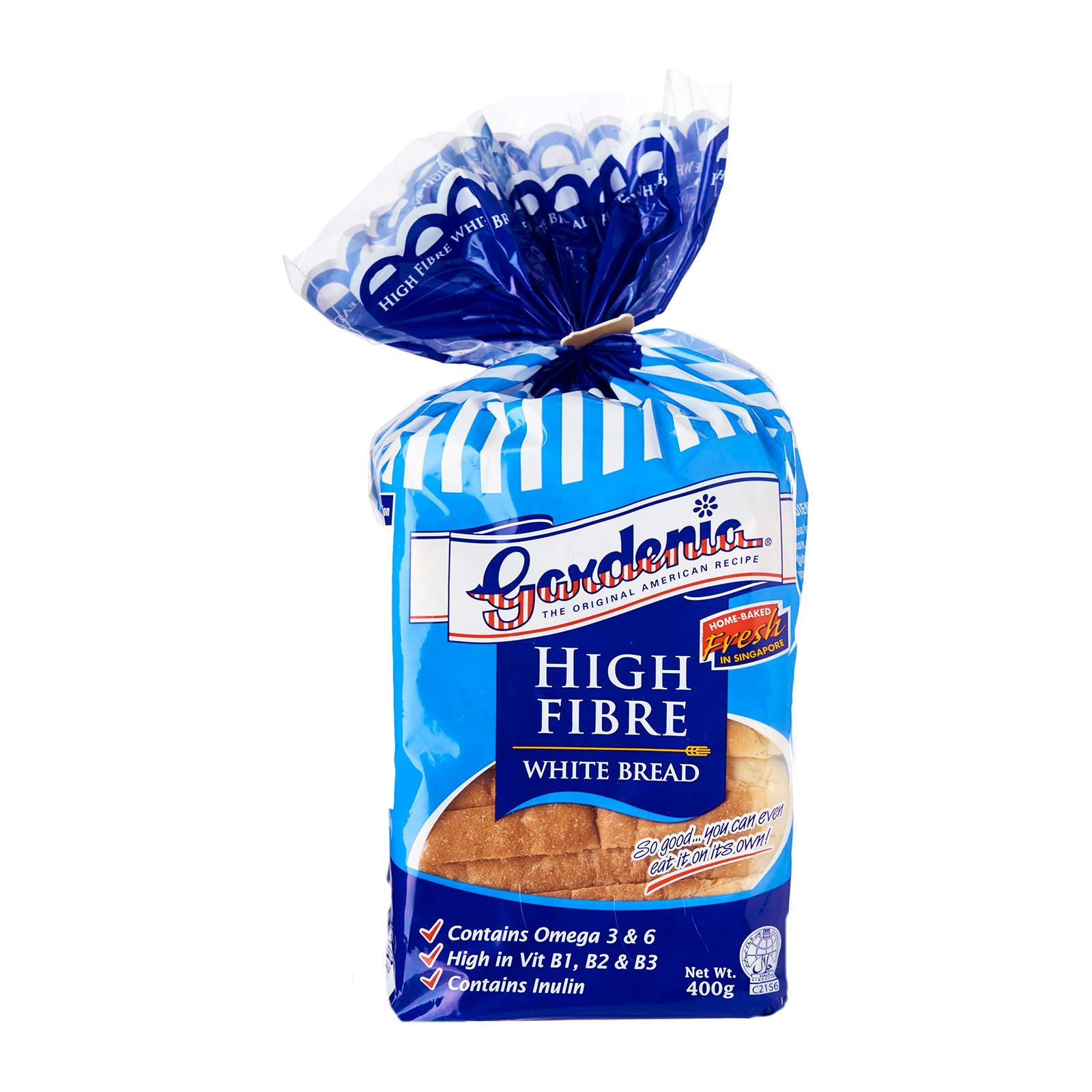 Gardenia Hi-Fibre White Bread By Redmart.