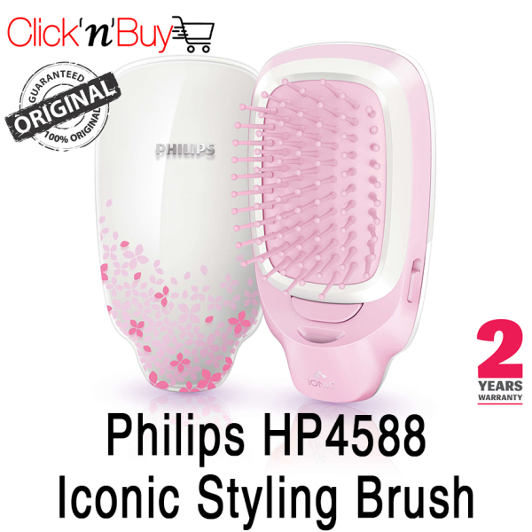 Buy Philips HP4588 Iconic Styling Brush. Battery Operated. Local SG Seller. 2 Years Warranty. Battery Operated. Singapore