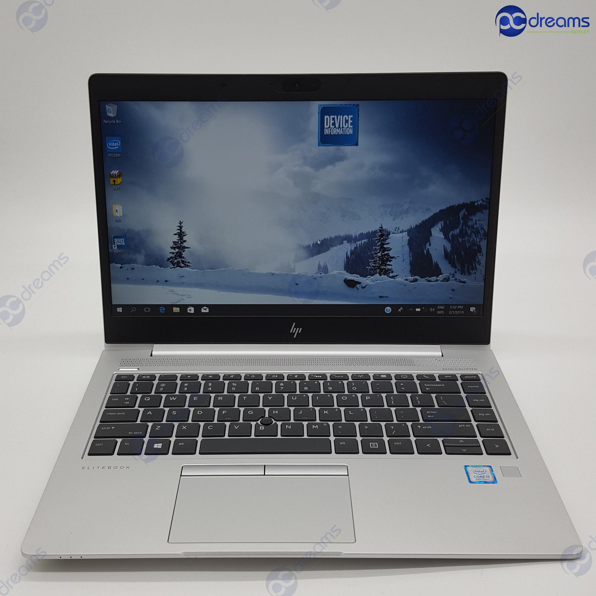 HP ELITEBOOK 840 G5 (2FA68AV) i7-8550U/16GB/512GB PCIE SSD/LTE [Premium Refreshed]