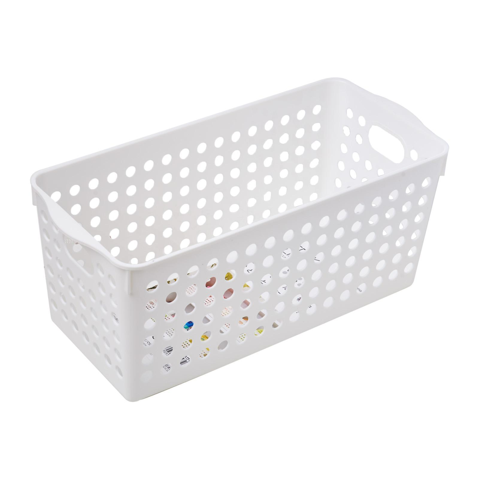 Inomata PP Storage Basket Slim/WHT