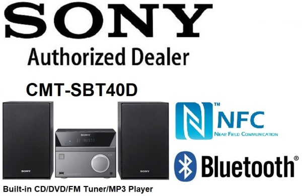 Sony CMT-SBT40D Hi-Fi System with BLUETOOTH® technology Singapore