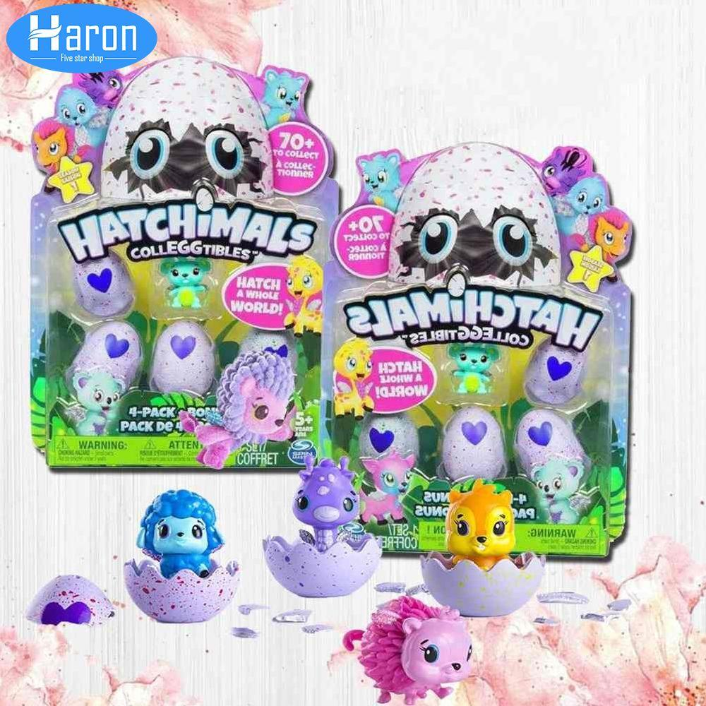 Cute Hatchimals Hatching Egg Shimmering Draggle Great Easter Gift For Kids - Intl By Haron.