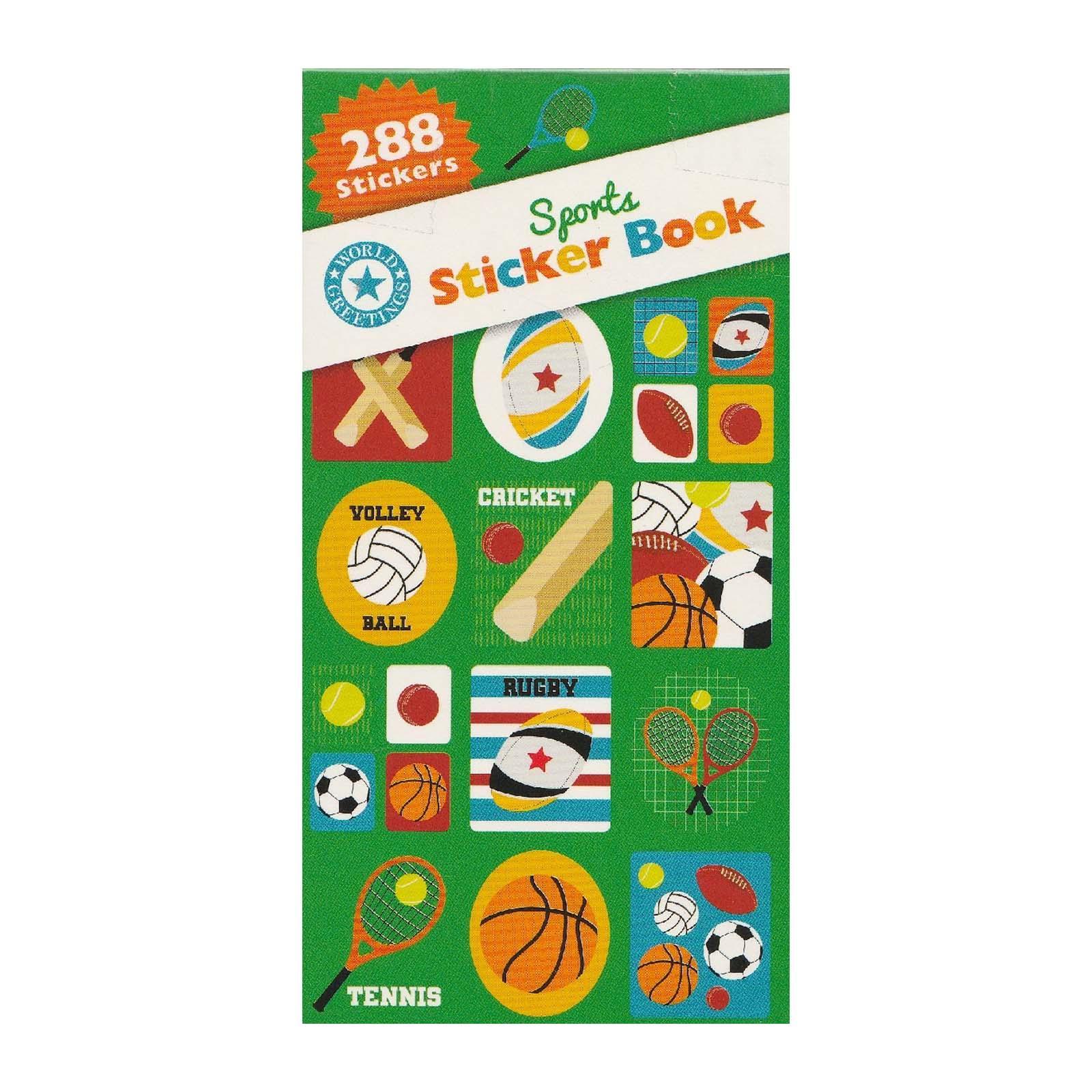 Artwrap Party Sticker Book - Sports