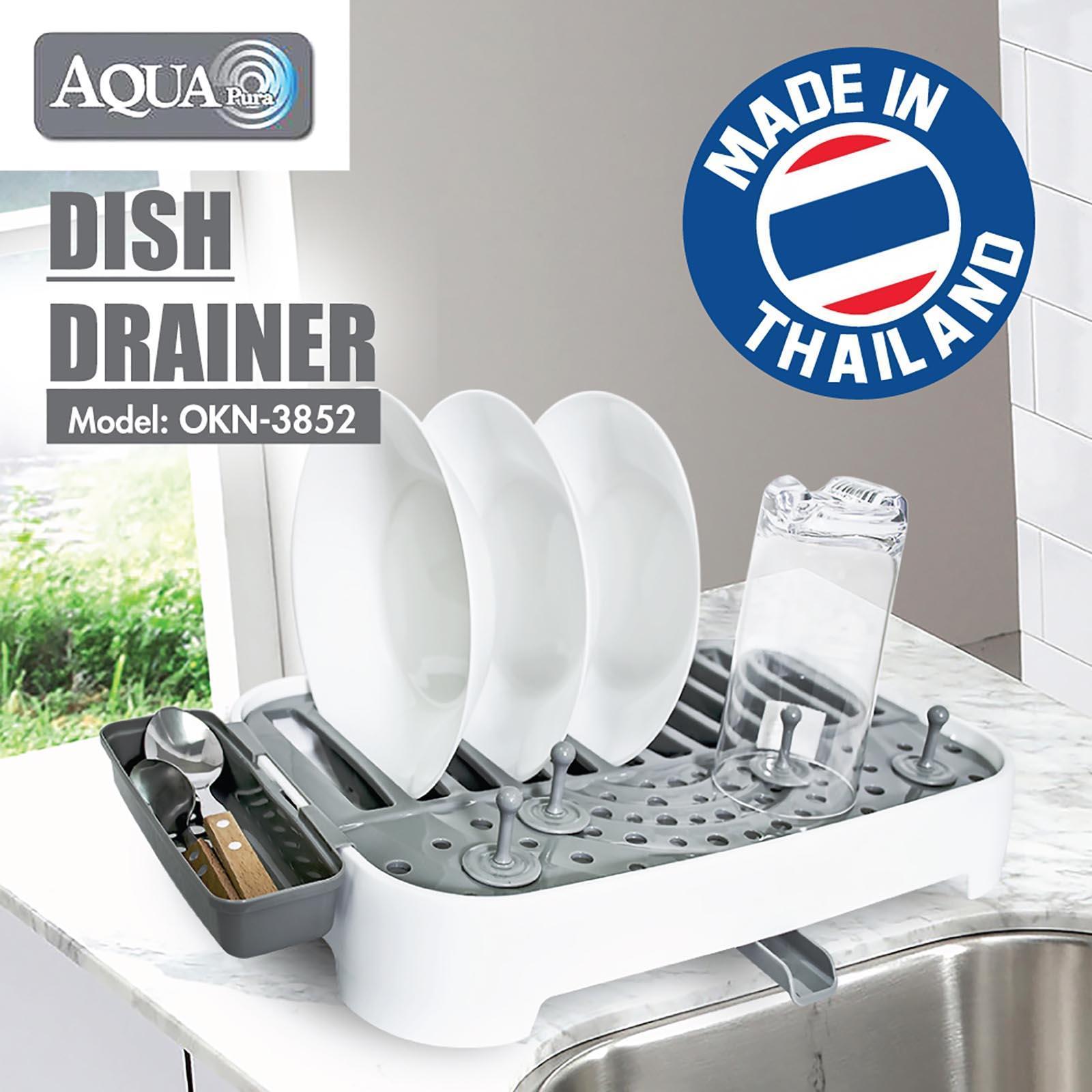 PICNIC Dish Drainer - (Grey)