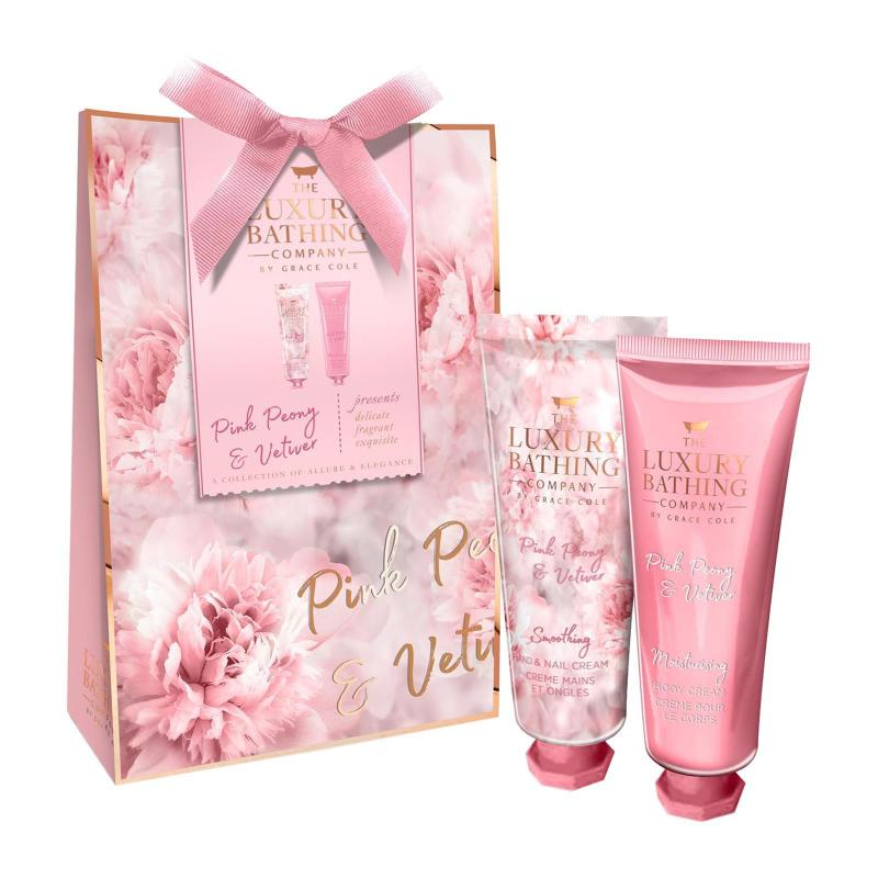 Buy Grace Cole Pink Peony and Vetiver - Dainty Duo Gift Set Singapore