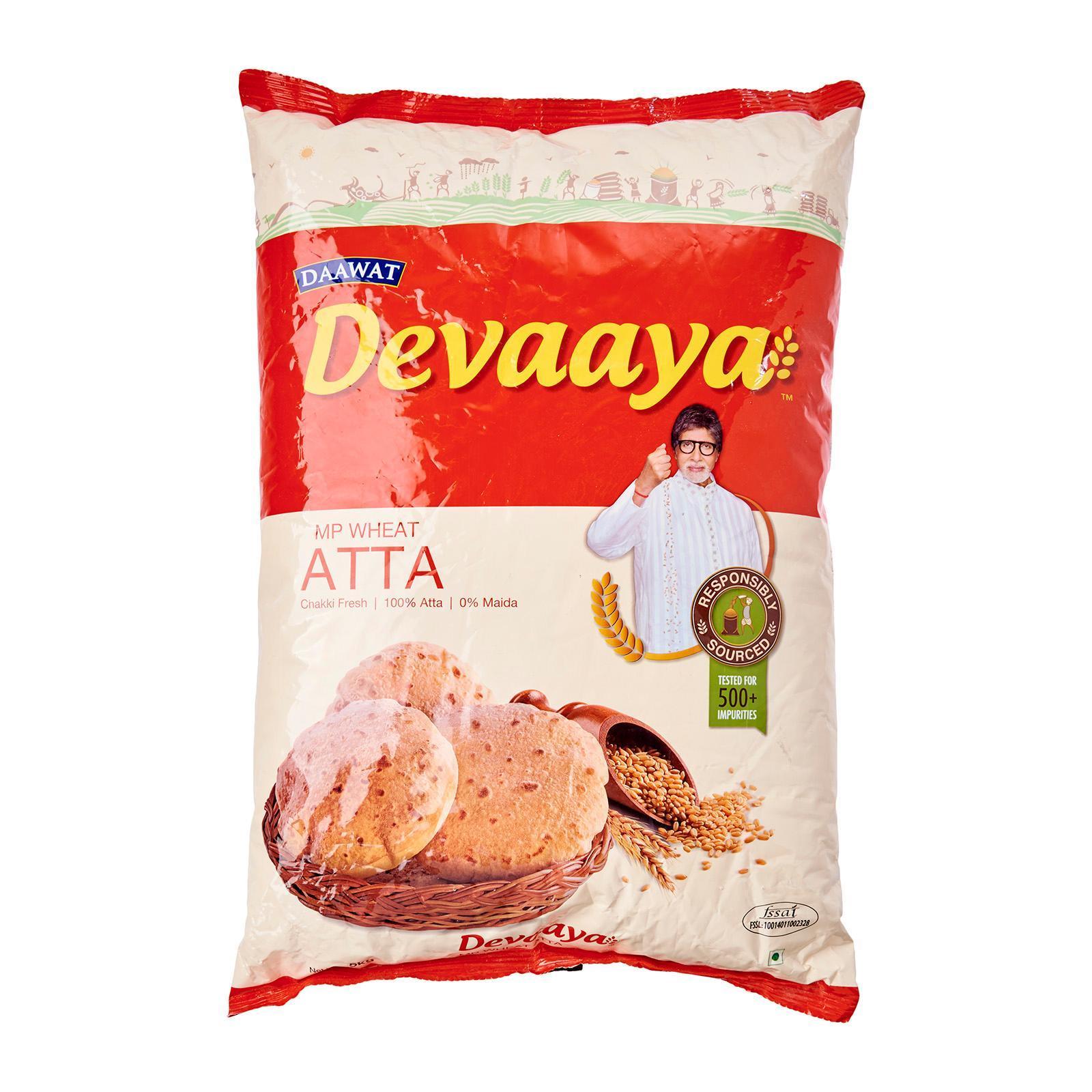 DEVAAYA Atta 5Kg - By Dashmesh
