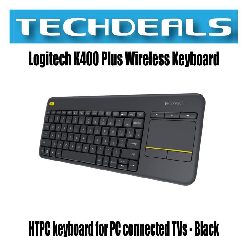 Logitech K400 Plus Wireless Keyboard with Touchpad Singapore
