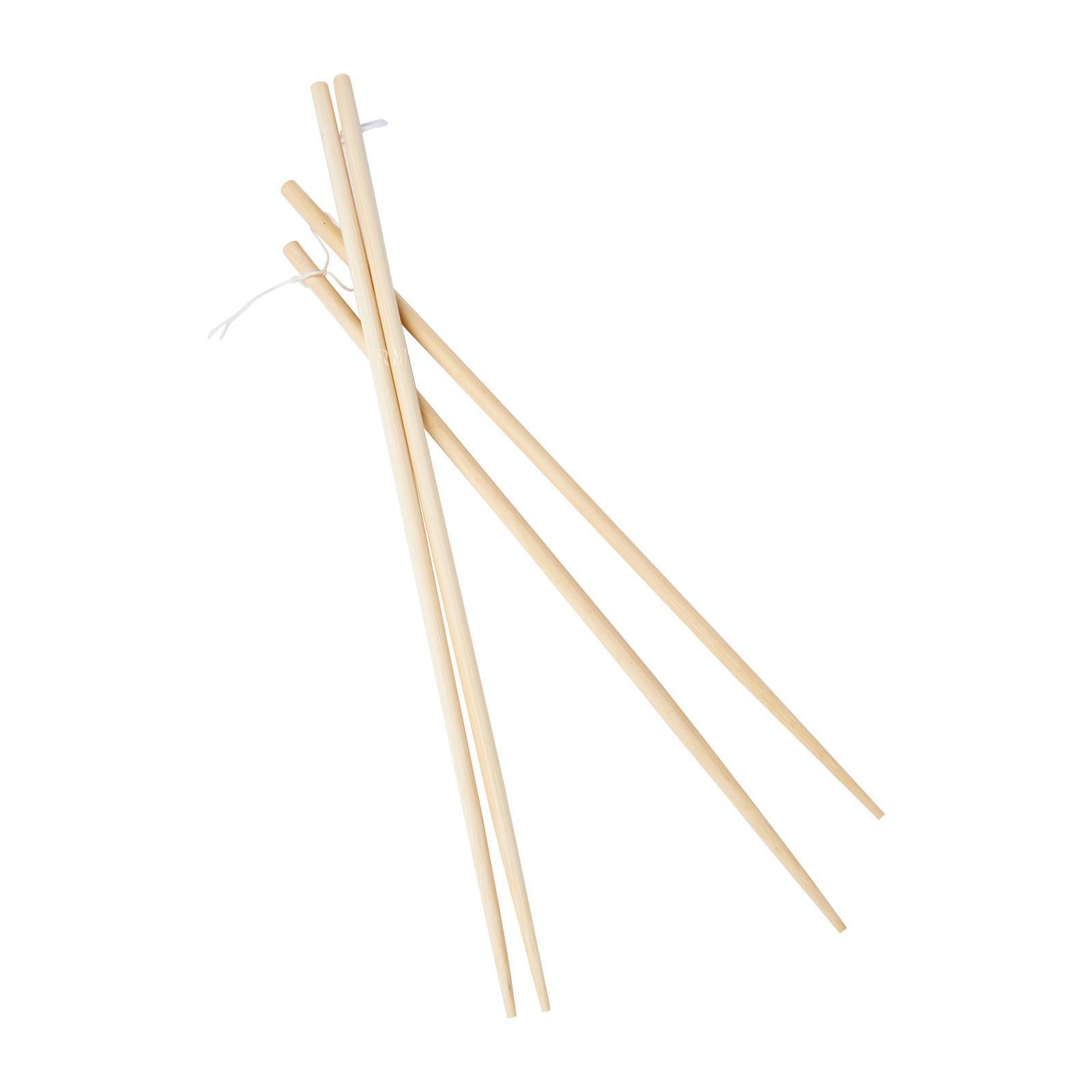 Vesta Bamboo Chopsticks 33 Cm And 30 Cm