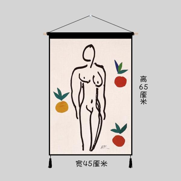 Creative Oil Painting Matisse Dormitory Transformation INS Cloth Living Room Wall Tapestry Bedroom Electric Meter Box Decorative Cloth