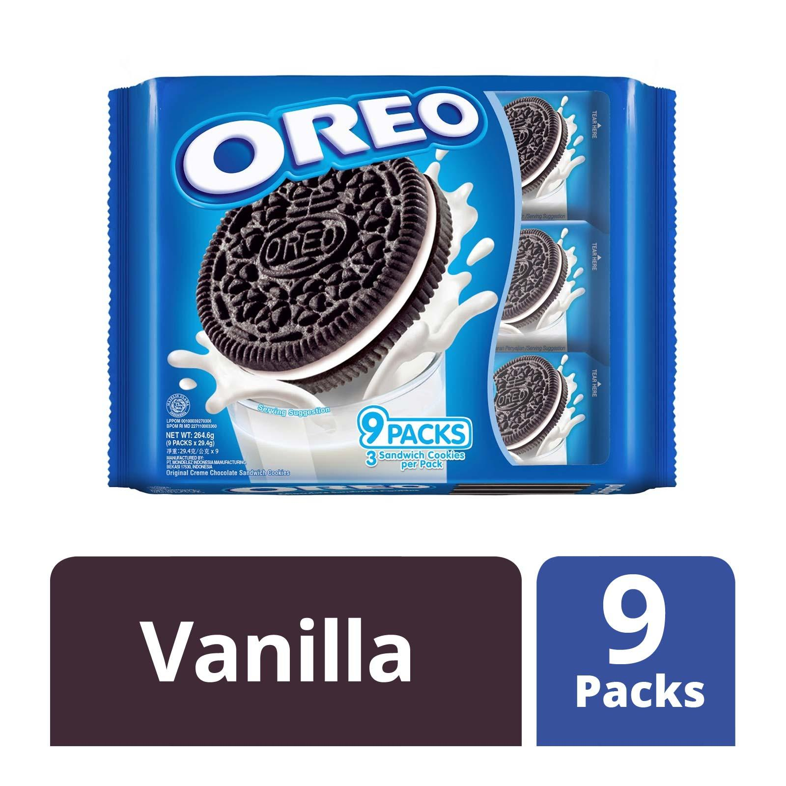 Oreo Chocolate Sandwich Cookies with Strawberry Creme (Multipack)
