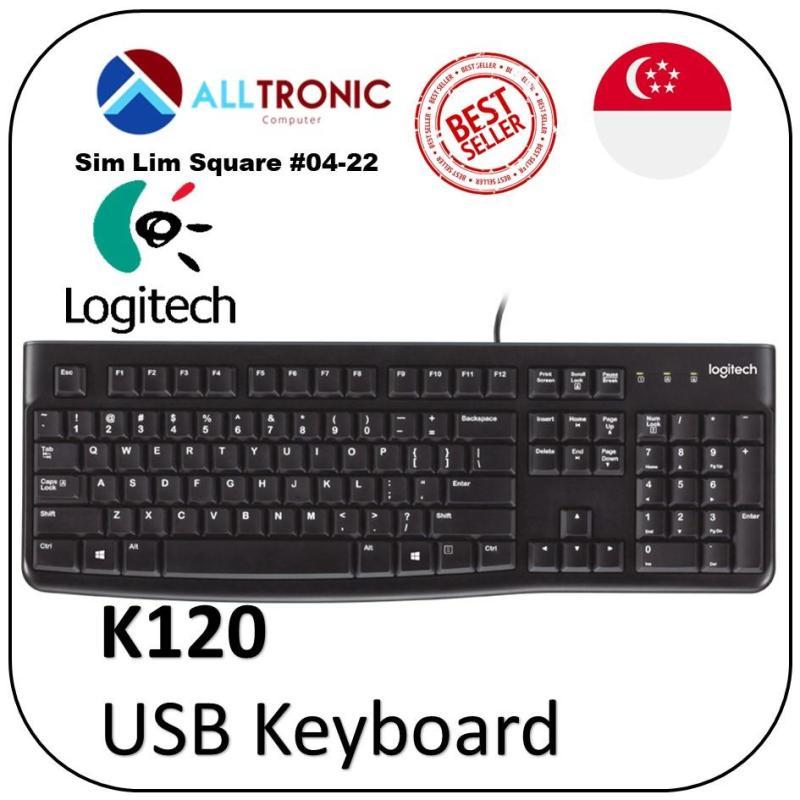 Logitech USB Keyboard K120 Singapore