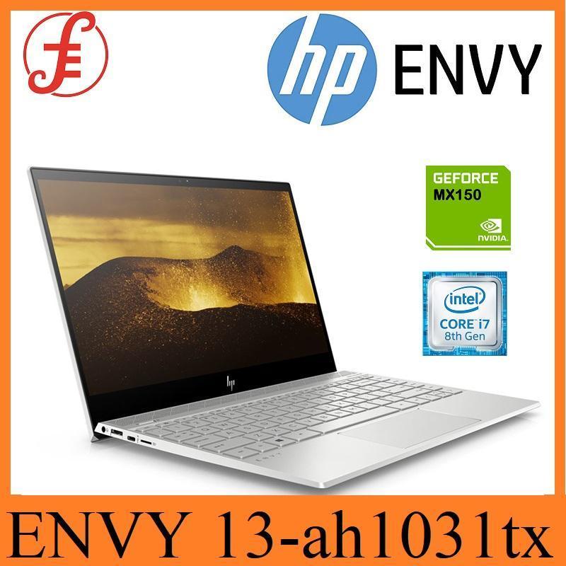 HP ENVY 13-ah1031tx / i7 / Window 10 / 13inch / 16GB RAM / 512GB SSD / NVIDIA MX150(2GB)