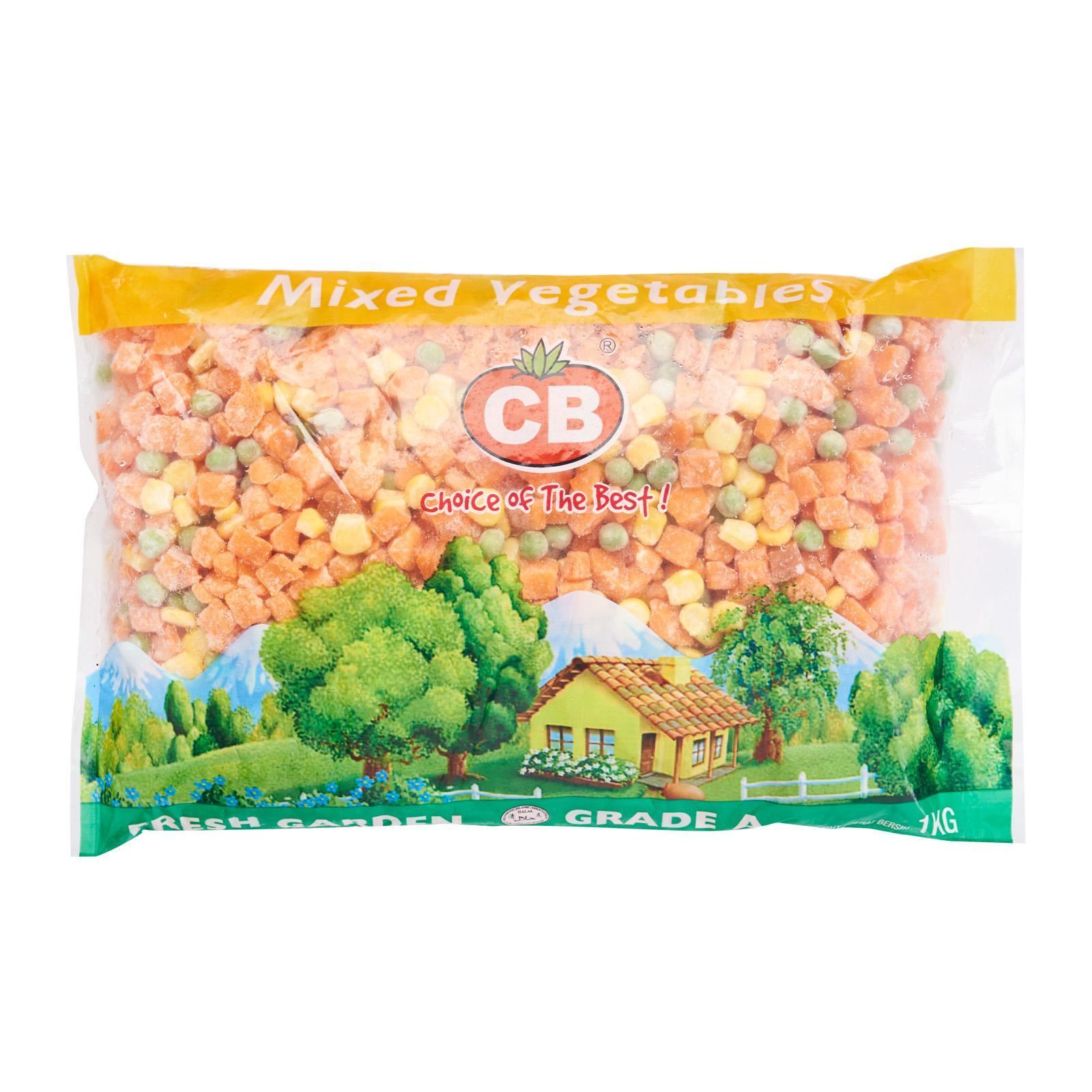 Cb Mixed Vegetables - Frozen By Redmart.