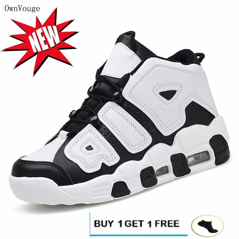 53943c37d1e5 OwnVouge Basketball Shoes Men High-top Sports Air Cushion Jordan Hombre  Athletic Mens Shoes Comfortable