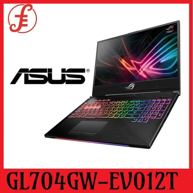 ASUS GL704GW-EV012T RTX2070 (I7-8750H / 16GB / 256GB SSD + 1TB HDD / W10) 17.3 FHD with 144HZ (GL704GW-EV012T)