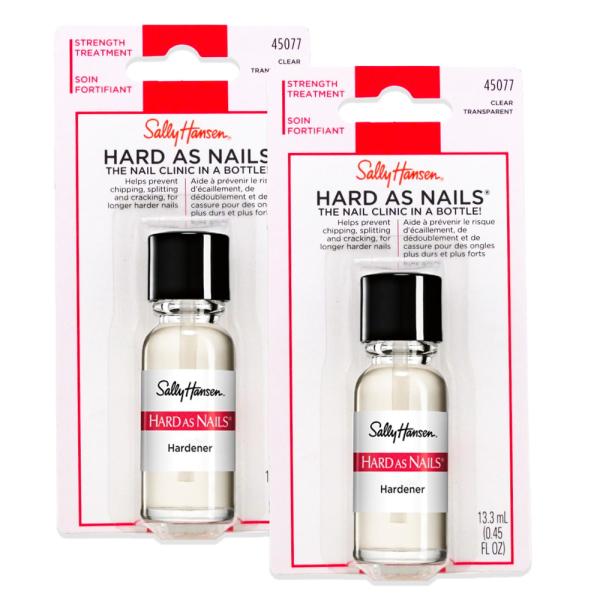 Buy Sally Hansen Hard as Nails - Clear (Hardener) (2 PCS) Singapore